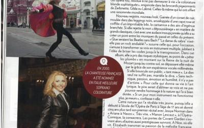 Elizabeth Vidal pour Paris Match