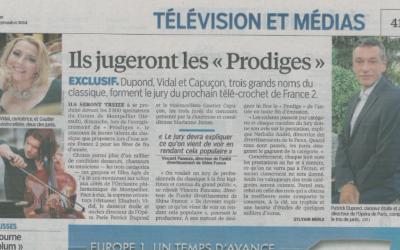 Article de Presse Prodiges